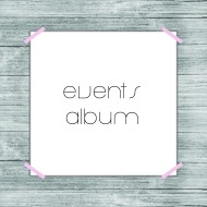 events album button