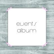 events album button