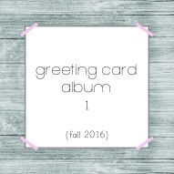 greeting card 1 album button