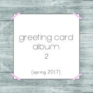 greeting card 2 album button